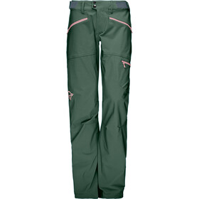 Norrøna Falketind Flex1 Pantalones Mujer, jungle green